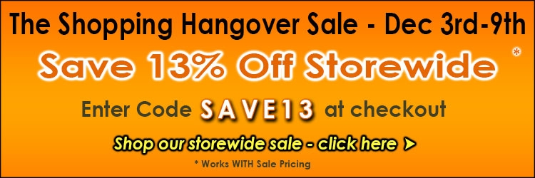 The Shopping Hangover 2019 Storewide Sale 13% Off  @ The Taxidermy Store