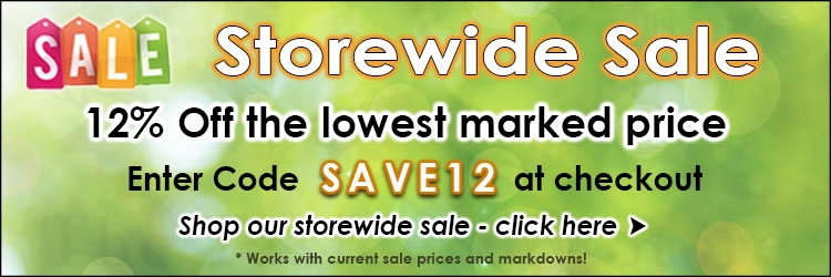 June 2019 Storewide Sale 12% Off  @ The Taxidermy Store