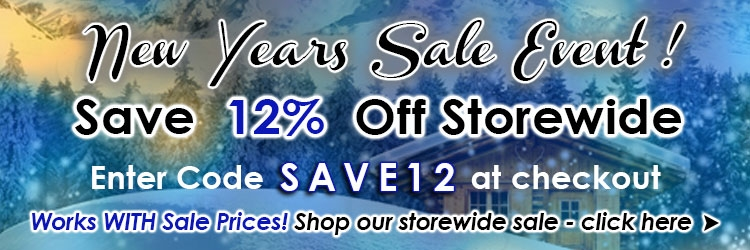 New Years Sale 12% Off Storewide @ The Taxidermy Store