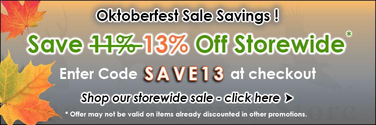 TTS Oktoberfest Fall Sales