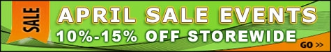 April Sale Events 10-15% Off @ The Taxidermy Store