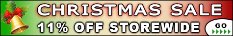Christmas Sale 11% Off @ The Taxidermy Store