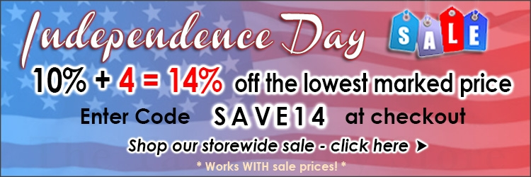 Independence Day Sale 14 @ The Taxidermy Store