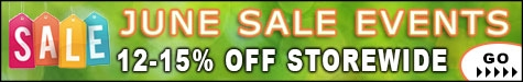 June Sale Events 12-15% Off @ The Taxidermy Store