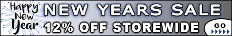 New Years Sale Event 12% @ The Taxidermy Store