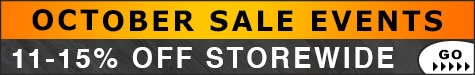 October Sale Events 11-15% Off @ The Taxidermy Store