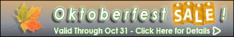 TTS Oktoberfest Fall Sale