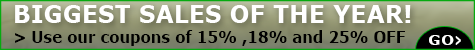 Coupon Code Promotions @ The Taxidermy Store