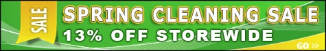 Spring Cleaning Sale Event 13% Off @ The Taxidermy Store