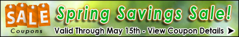 Spring into Savings Extended Taxidermy Store Sale