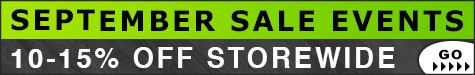 September Sale Events 10-15% Off @ The Taxidermy Store