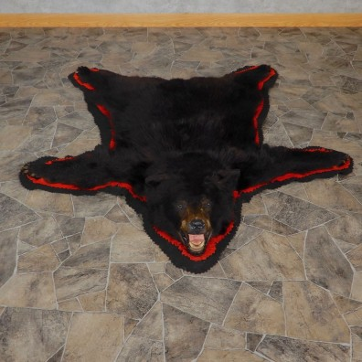 Black Bear Full-Size Rug For Sale #18972 @ The Taxidermy Store