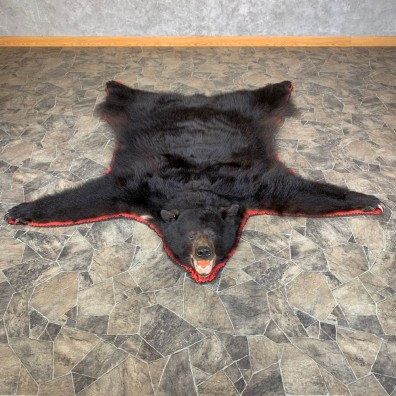 Black Bear Full-Size Rug For Sale #23332 @ The Taxidermy Store