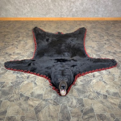 Black Bear Full-Size Rug For Sale #23665 @ The Taxidermy Store