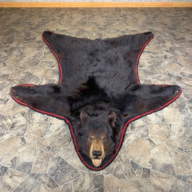 Black Bear Full-Size Rug For Sale #23999 @ The Taxidermy Store