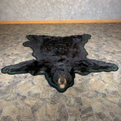 Black Bear Full-Size Rug For Sale #24007 @ The Taxidermy Store