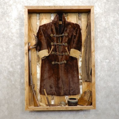 Authentic Mountain Man Era Display Case For Salet #21468 For Sale @ The Taxidermy Store