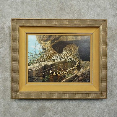 Leopard Pair Print For Sale #15754 @ The Taxidermy Store