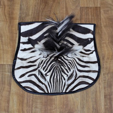 African Zebra Head Rug Taxidermy Mount #11067 For Sale @ The Taxidermy Store