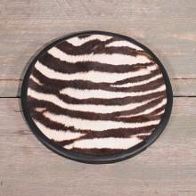 Zebra Hide Center Piece #10602 - The Taxidermy Store