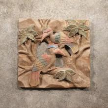 #11291 Original Hornbill Wood Carving