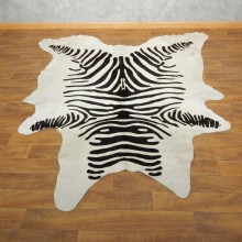 Faux Zebra Cow Hide For Sale #17868 @ The Taxidermy Store