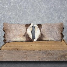 African Gemsbok Hide Pillow Set #12057 For Sale @ The Taxidermy Store