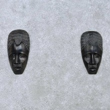 African Tribal Mask Pair For Sale #15173 @ The Taxidermy Store