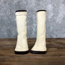 African Giraffe Bone Salt Shakers For Sale #19581 @ The Taxidermy Store
