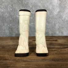 African Giraffe Bone Salt Shakers For Sale #19582 @ The Taxidermy Store