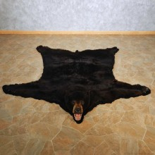 Black Bear Full Size Rug For Sale #14602 @ The Taxidermy Store
