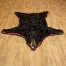 Black Bear Full-Size Rug For Sale #17259 @ The Taxidermy Store
