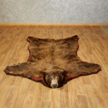 Black Bear Full-Size Rug For Sale #17260 @ The Taxidermy Store