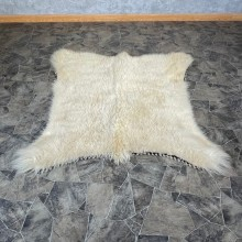 Mountain Goat Throw Rug #24683 For Sale @ The Taxidermy Store