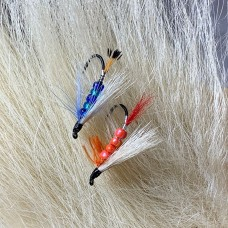 "5"" Authentic Polar Bear Hair for Fly Tying & Crafting - 9in²"