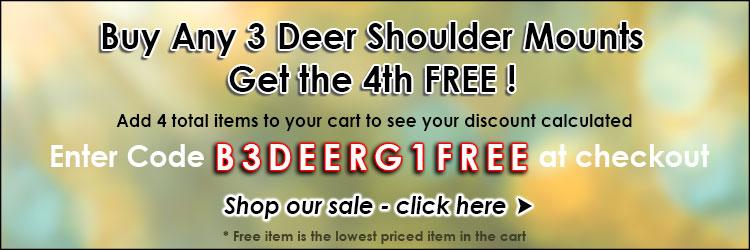 Buy 3 Get 1 Free DEER