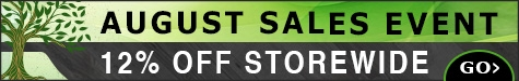 August Sales Event 12% Off @ The Taxidermy Store